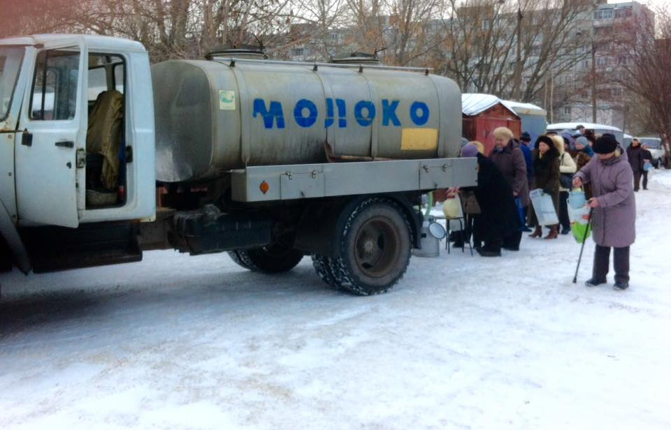 Milk-Truck in Russia