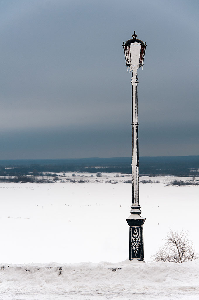 Lamp post in Nizhny Novgorod