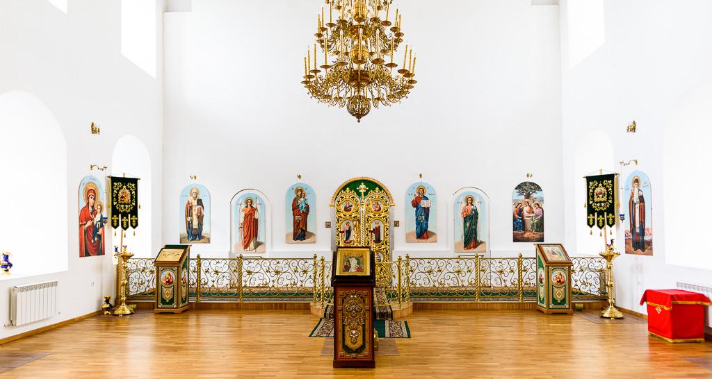 Holy Trinity Monastery Interior in Smolensk