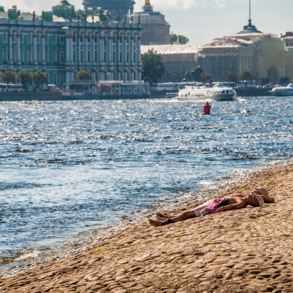 Summer in Saint Petersburg