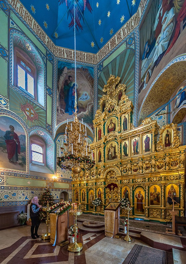 Suzdal church interior