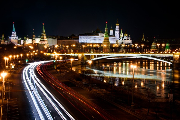 Kremlin by night