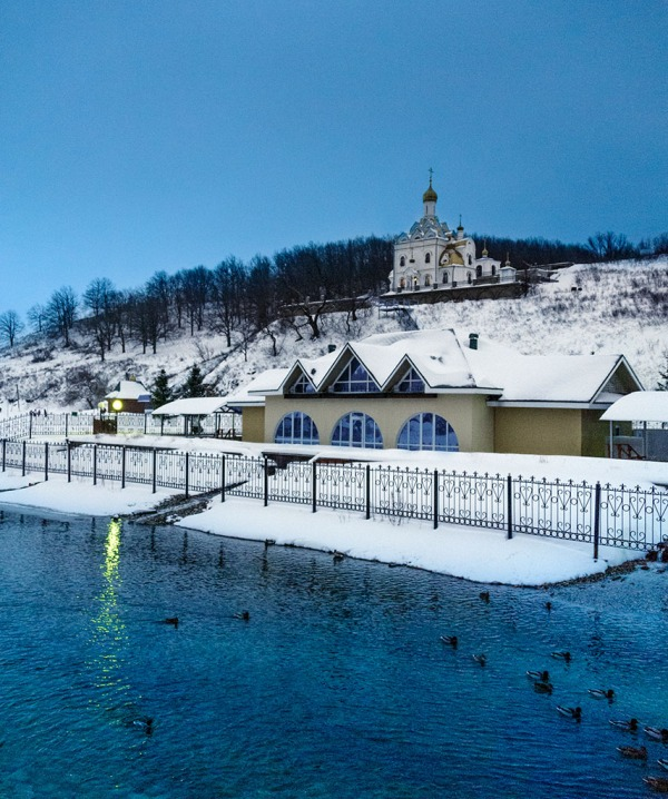 The thermal waters of Krasnousolsk