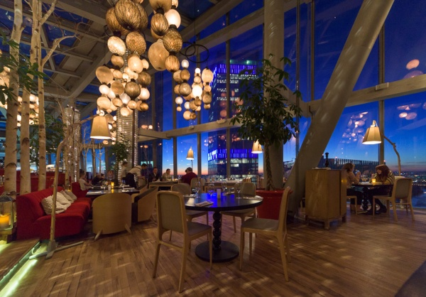 Sixty: the highest restaurant in Europe