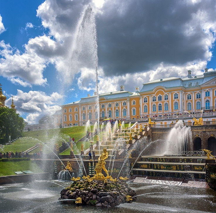 Peterhof Today