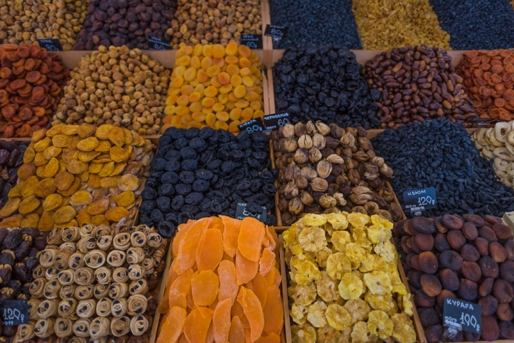 Moscow Market Dried Fruits