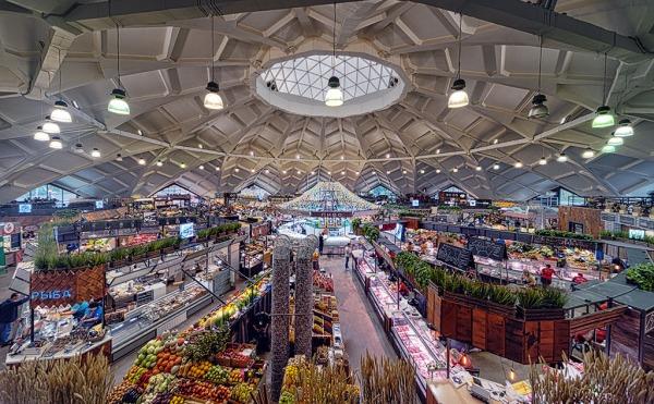 Danilovsky market in Moscow