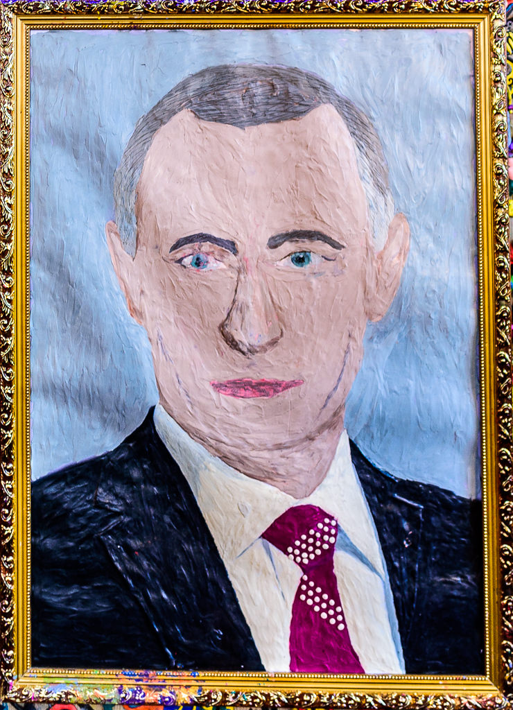 Plasticine Putin