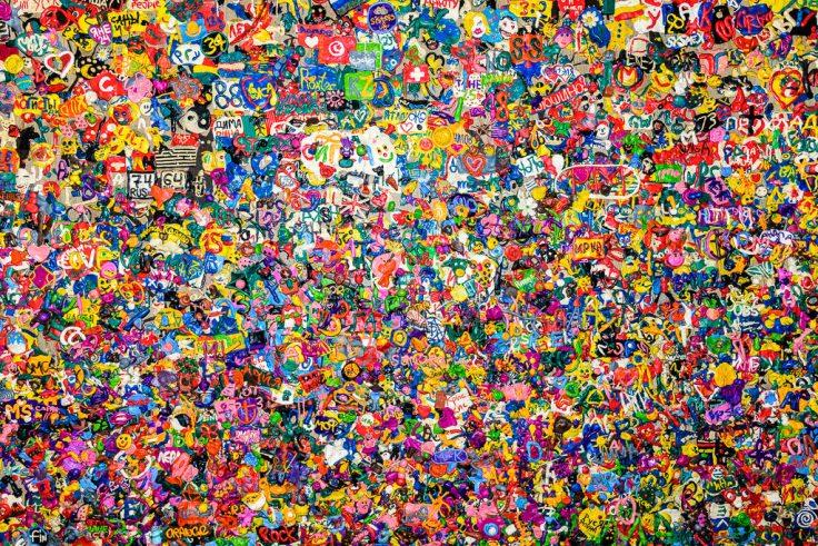 Plasticine Wall
