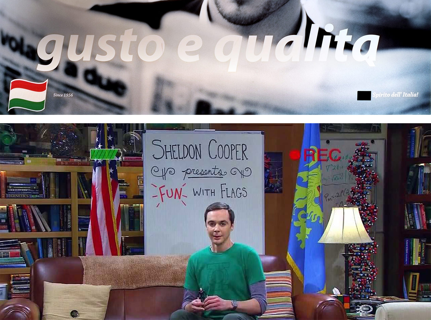 Russian Pizza chain Vs Dr. Sheldon Cooper