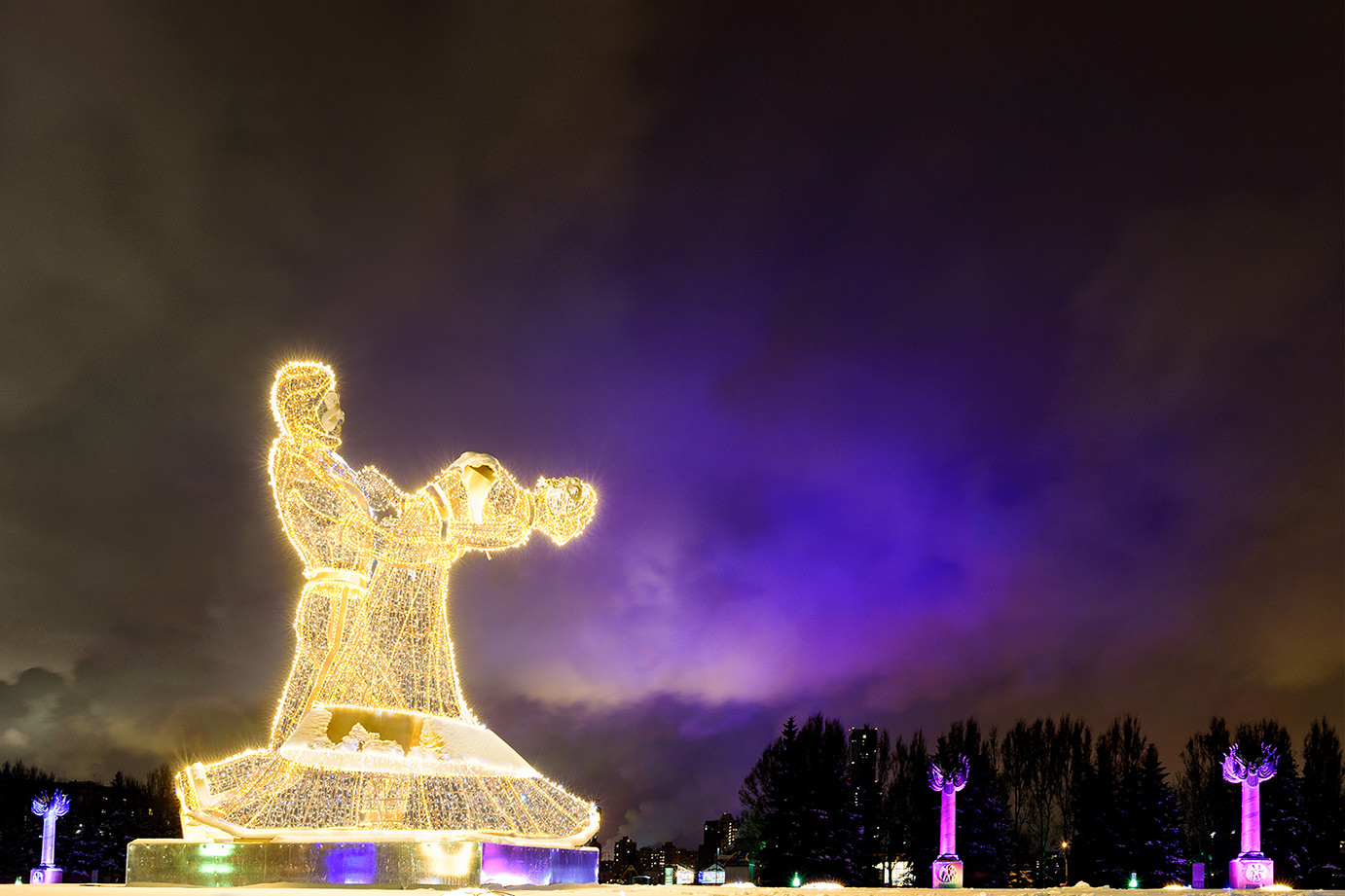 When Is Russian Christmas.Dancing Under The Moscow Sky Russia Through The Lens