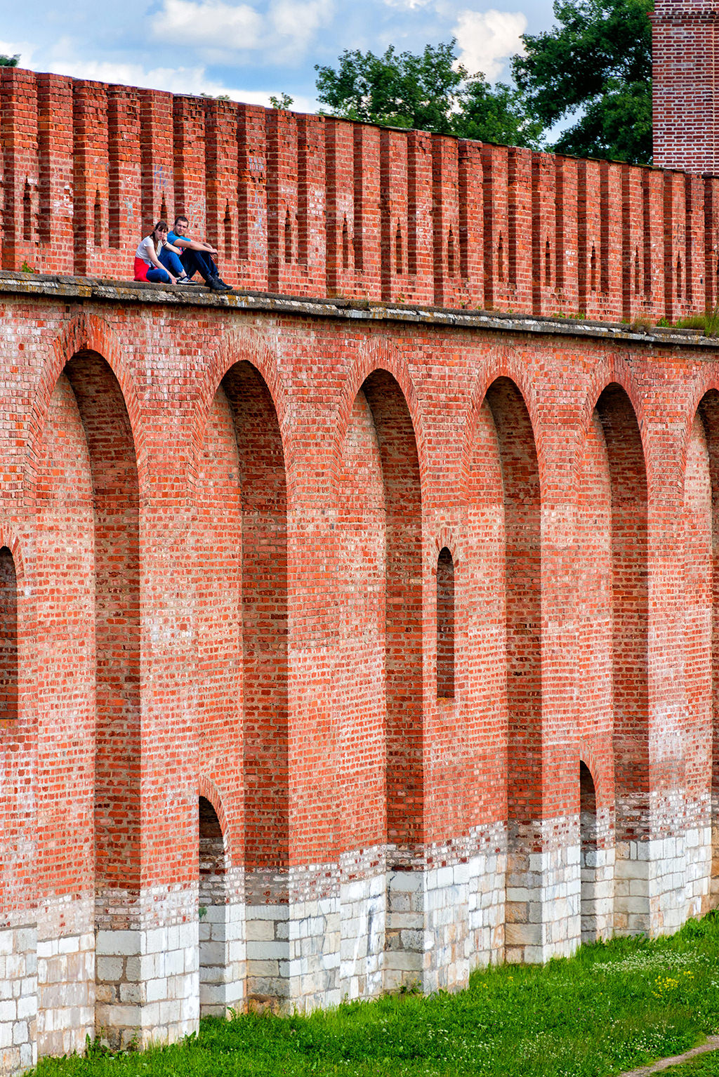 Smolensk wall, Russia