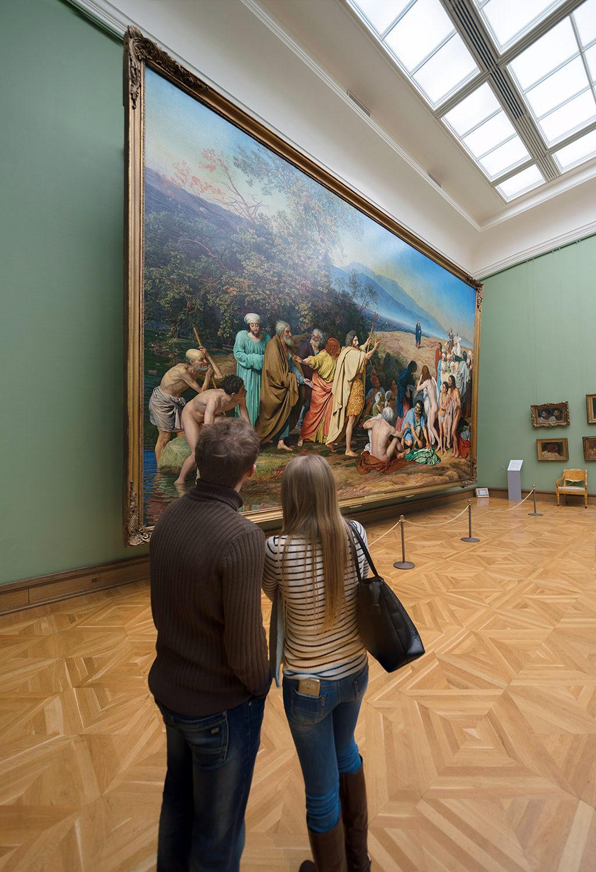 Tretiakov gallery masterpiece