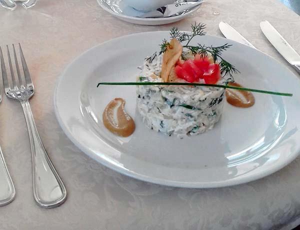 Tver Restaurant Appetizer